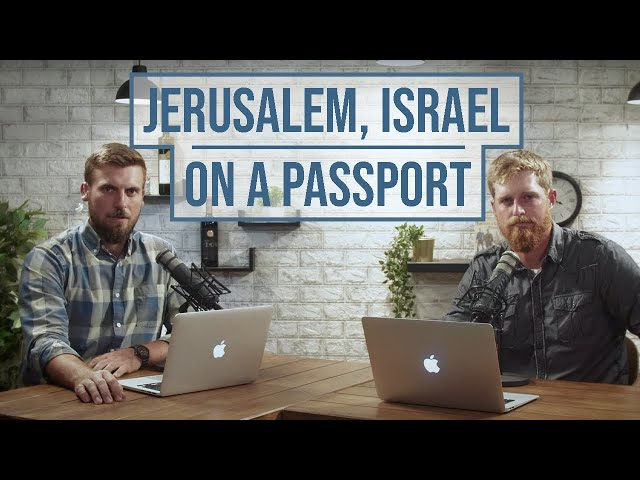 """Americans Born in Israel Can Now List """"Israel"""" on Their Passports"""