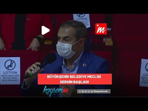 Büyükşehir Belediye Meclisi Gergin Başladı