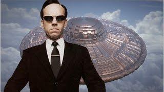 Правительство скрывает Люди в черном Спецслужбы против НЛО Фантастические истории
