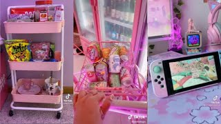 Kawaii🌸 Food//Unboxing//Setup//Tik Toks