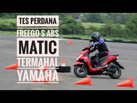 Tes Perdana Freego S ABS, Matic Termahal dari Yamaha