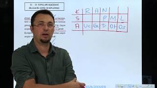 Sözel Mantık Soru 7 Orkun DİKMEN (AJANDA)