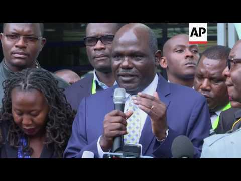 Kenya election official murdered ahead of vote