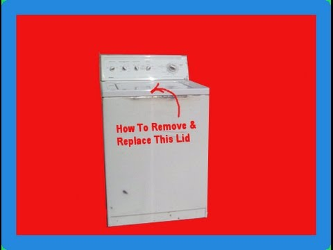 How to Get the Outer Case Off Kenmore Washer 90 SERIES 11024922200 ...
