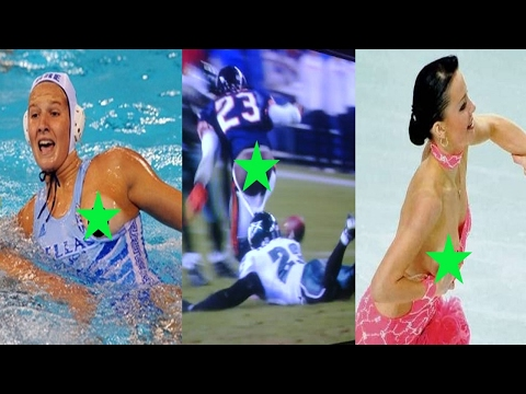 Top 5 Sport Wardrobe Malfunctions Part 2
