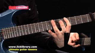 Extreme Arpeggio Workout Exercise One Guitar Lesson Sample | Andy James Licklibrary