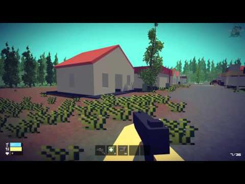Let's play Pixel Survival - Craft Game (PC game on Steam) 1080p 60fps [UnitZ Clone]