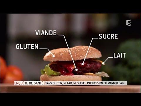 Sans gluten, ni lait, ni sucre : l'obsession du manger sain - Enquête de santé le documentaire