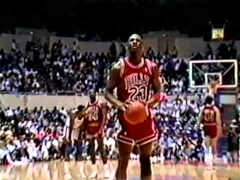 818cedba4c97 Michael Jordan 40 pts vs. Clippers - 1987 - YouTube