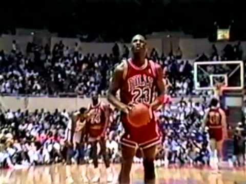 009d921d6e718a Michael Jordan 40 pts vs. Clippers - 1987 - YouTube