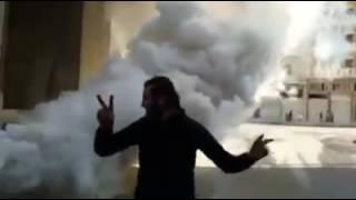 شاهد..أهالي حلب يبتكرون جهاز لتضليل الطيران
