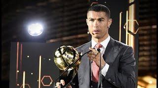 Церемония Globe Soccer Awards Криштиану Роналду признан лучшим футболистом XXI века