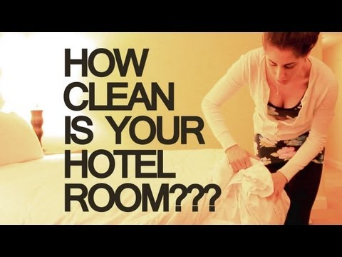 How Clean Is Your Hotel Room? (Clean My Space)