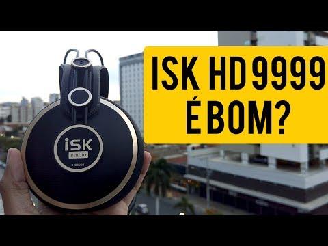 Seria o MELHOR Headphone de Estúdio? ISK HD9999 - Review