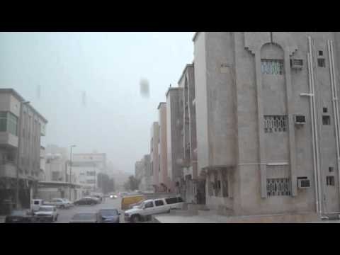 RAIN IN JEDDAH SAUDI ARABIA 17 Nov 2015
