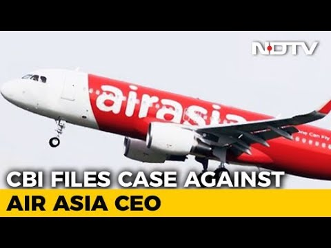 Air Asia CEO Booked By CBI For Violating International Aviation Rules