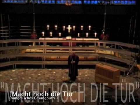 Charlottenburg choral macht hoch die t r die tor macht for Macht hoch die tur die tor macht weit