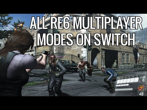 Testing Every Multiplayer Mode In Resident Evil 6 On Switch