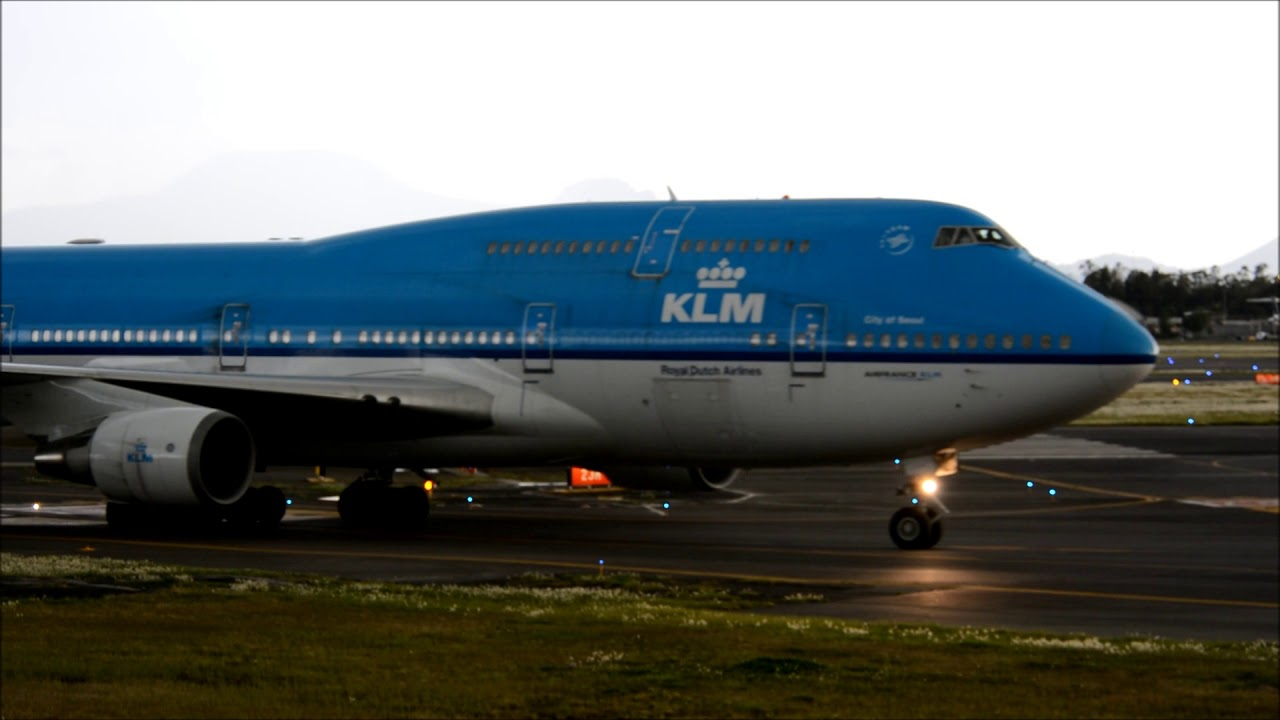 Klm b 747 hangin 39 around at mexico city youtube for Oficinas klm mexico