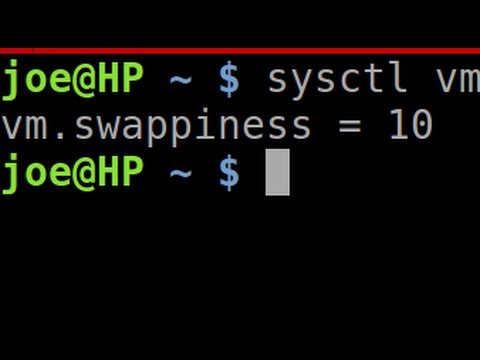 Linux Tip | Adjust Swappiness and Set Write Cache to Improve Perfomance