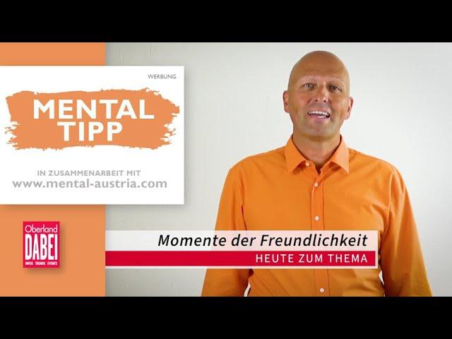 Oberland DABEI Mentaltipp - 13.10.2021