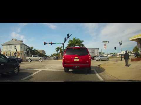 Driving around Downtown Punta Gorda, Florida