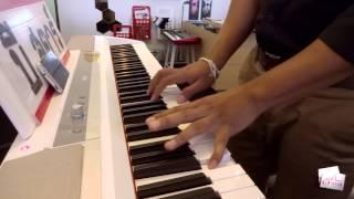 ทิ้งไว้กลางทาง Piano Karaoke Key ผู้หญิง