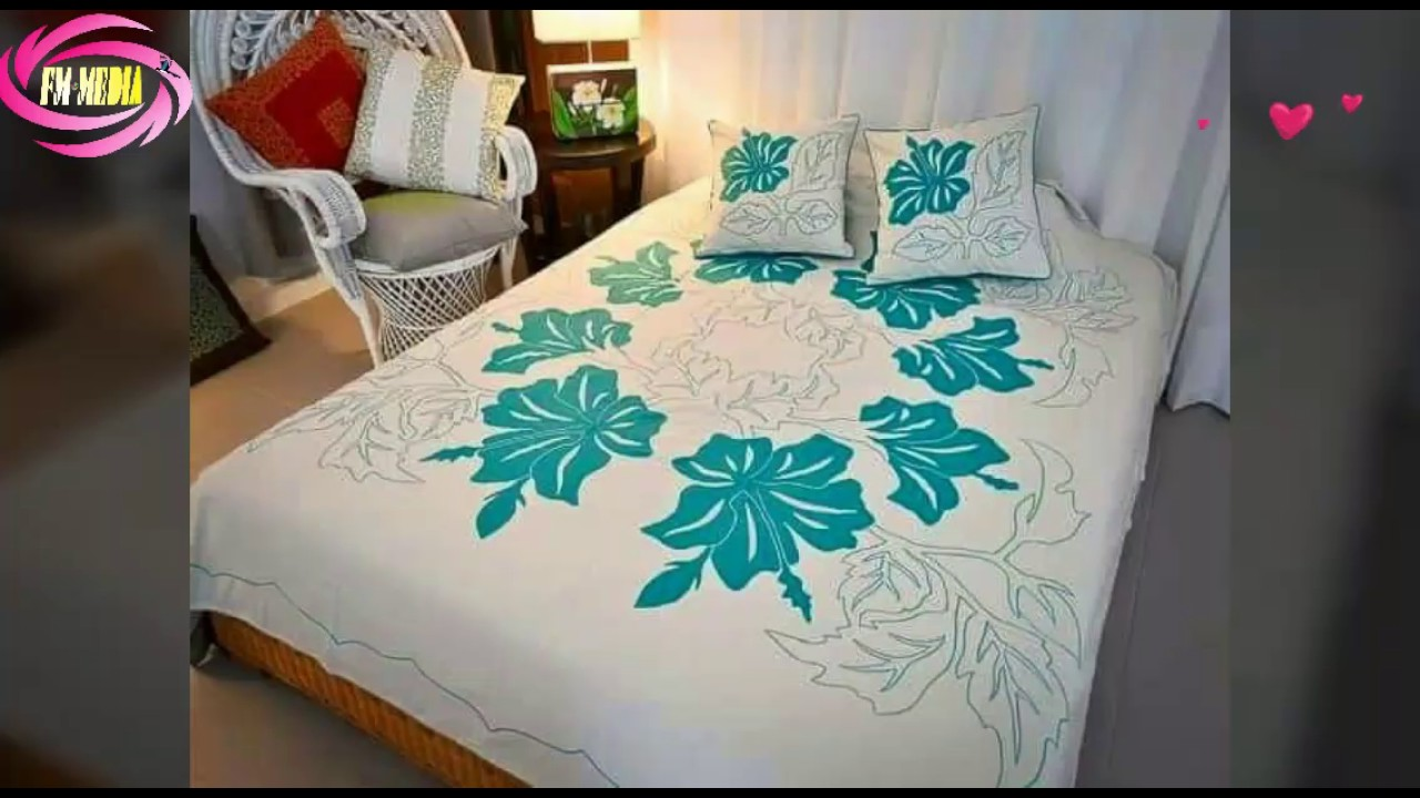 Ribbon work bed sheets designs - Beautiful Bad Sheet Buy Bad Sheet Nice Bad Sheet Wanderfull Bed Sheet Love Bed Sheet Fm Media