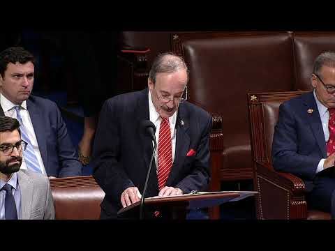 U.S. Rep. Eliot Engel, D-NY, speaking of the House floor.