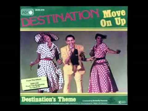 70's disco music - Destination - Move on up/ Up up up 1979