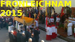 Webcam Mittenwald 04.06.2015 Fronleichnams-Prozession