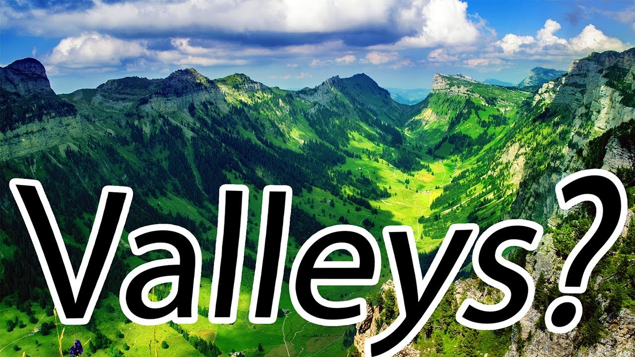 Download How are Valleys Formed