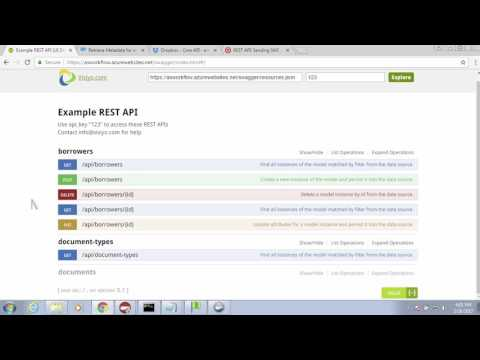 How to work with a REST API (and VBScript and AutoStore) - YouTube