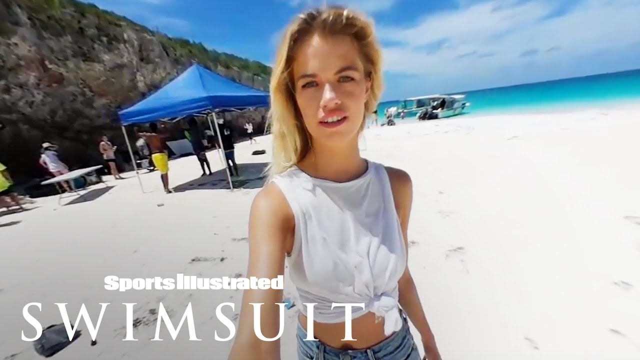66919a2b655ff Hailey Clauson Takes You For A 360 Dip In The Caribbean