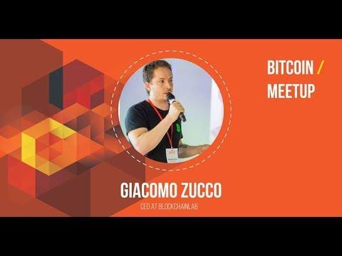 Bitcoin meetup with Giacomo Zucco