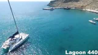 Lagoon 440 Catamaran Aegean Sea Greece Islands