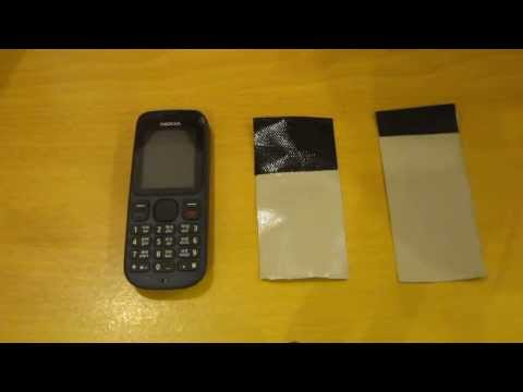 Nokia 100 - How To Get The Back Off