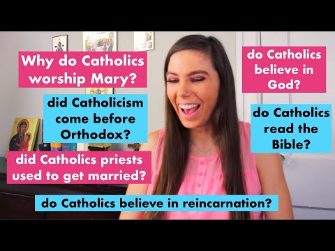 MOST GOOGLED QUESTIONS ABOUT THE CATHOLIC CHURCH!!!! Mary, Priests, Baptism, Saints | rapid fire!!