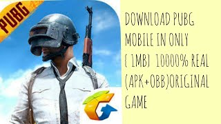 How to download pubg game in PSP for Android only 1MB || with 100