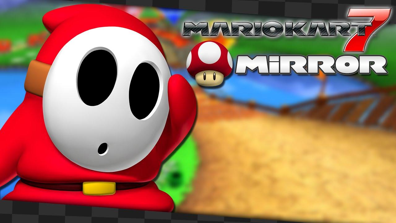 Mario Kart 7 - Nitro Cups: Mushroom Cup Mirror (Shy Guy) – Aaronitmar