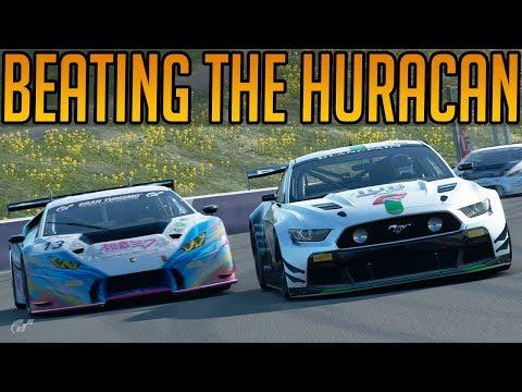 Gran Turismo Sport: Trying to Beat that Darn Huracan