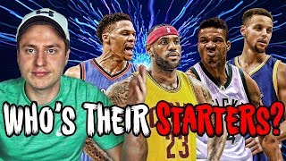 Can YOU Name Every NBA Starting Lineup? (Impossible)