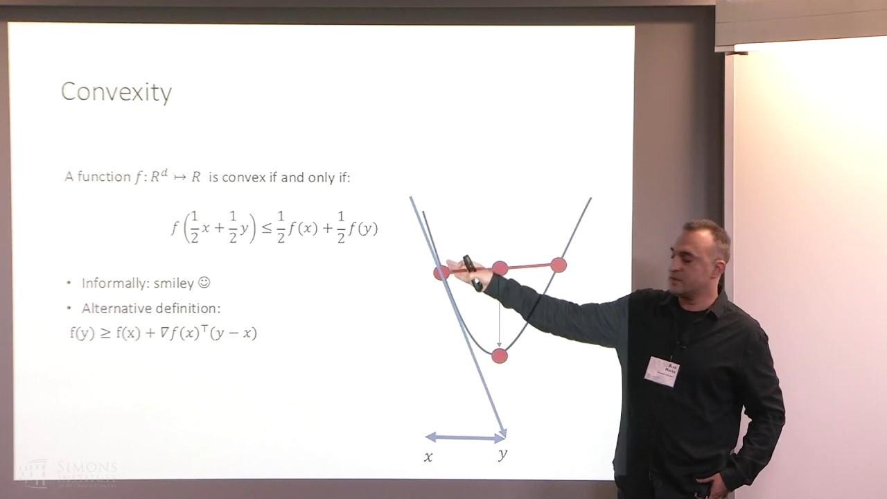 Elad Hazan, Machine Learning and Optimization