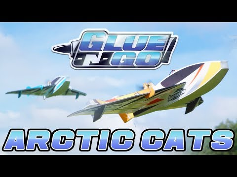 H-King Glue-N-Go Arctic Cats - HobbyKing Glue-N-Go Series
