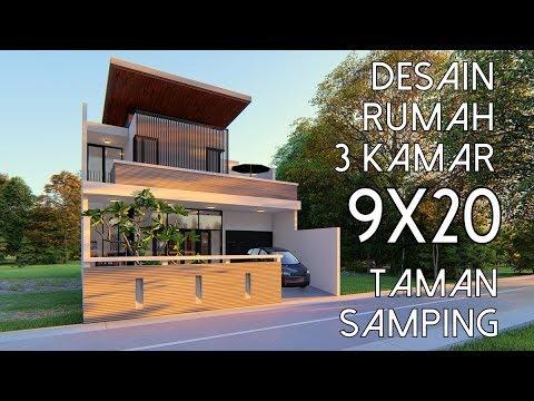 desain rumah ukuran 9 x 20 - berbagai rumah