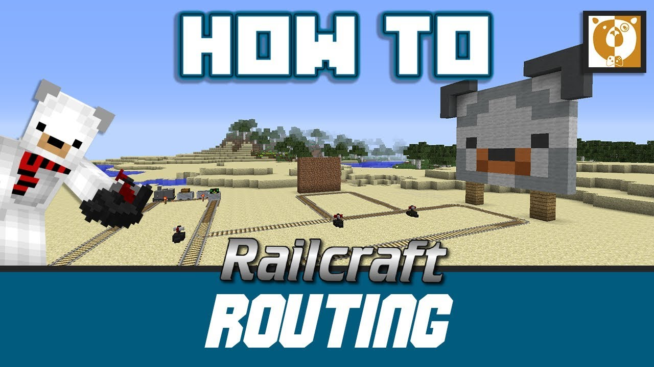 Railcraft - Routing, Tickets and How to use Switch motor! [Minecraft  1 7 10] - Bear Games How To