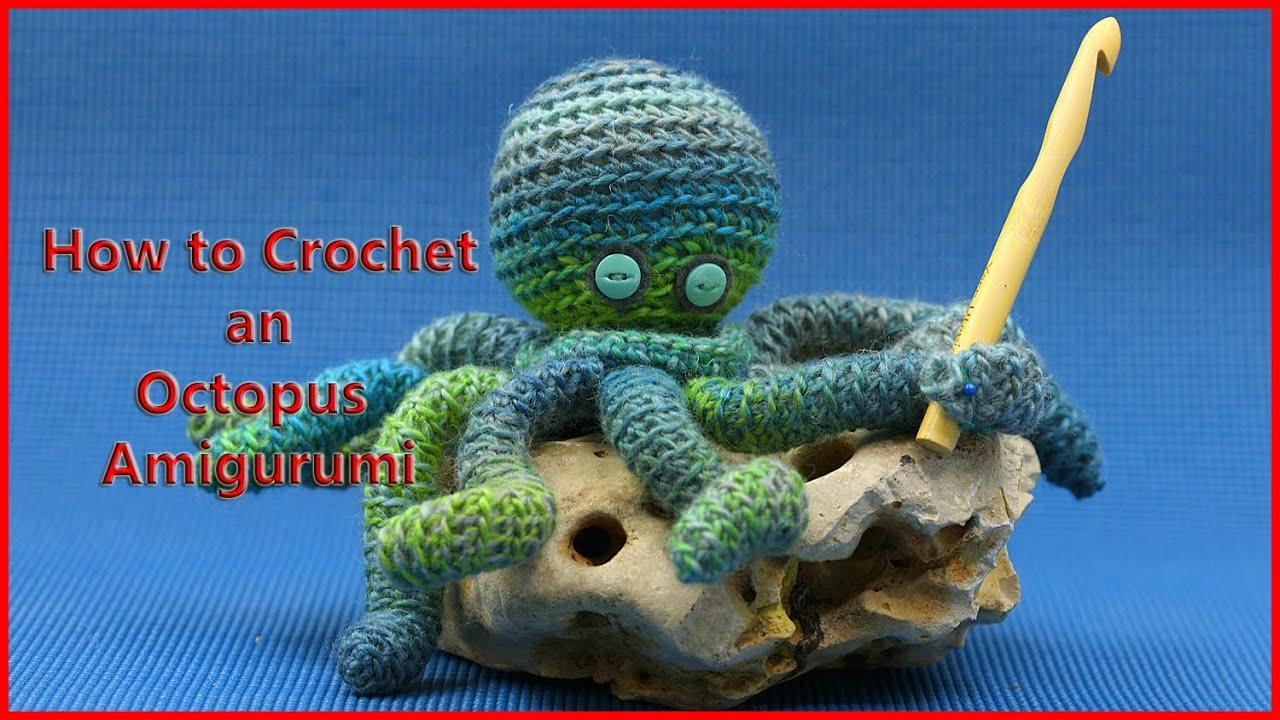 What a cute amigurumi octopus crochet pattern! #afflink #crochet ... | 720x1280