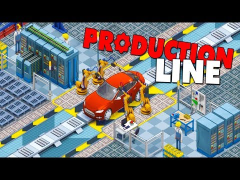 BUILD & MANAGE THE ULTIMATE CAR FACTORY! MAKING OUR OWN CUSTOM CARS! - Production Line Gameplay