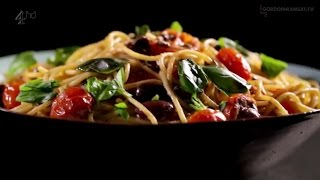 Гордон Рамзи - Паста с томатами, анчоусами и чили