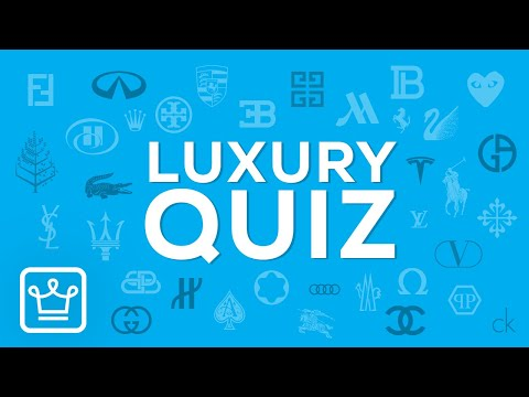 QUIZ: Can you identify 50 Luxury Brands Based on their Logo?